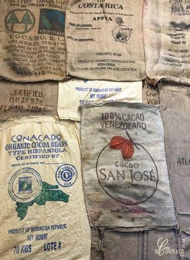 Cocoa-bean-bags