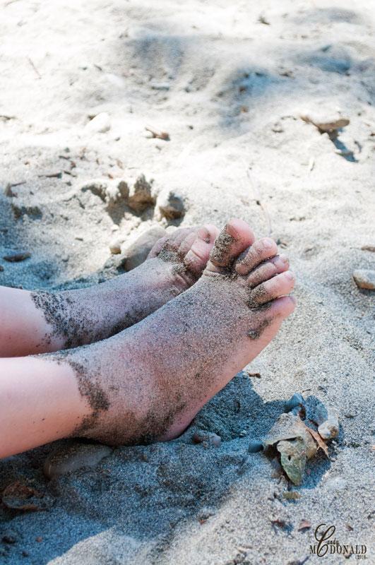 Sand-socks!