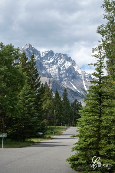 Banff Campground view