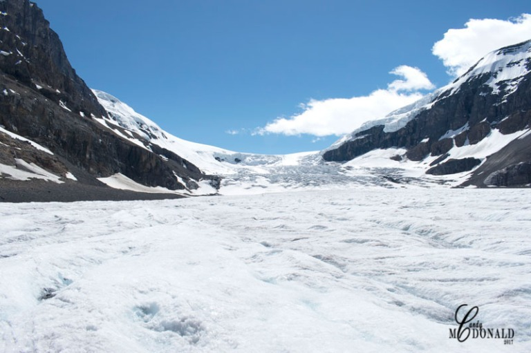 Standing-on-glacier