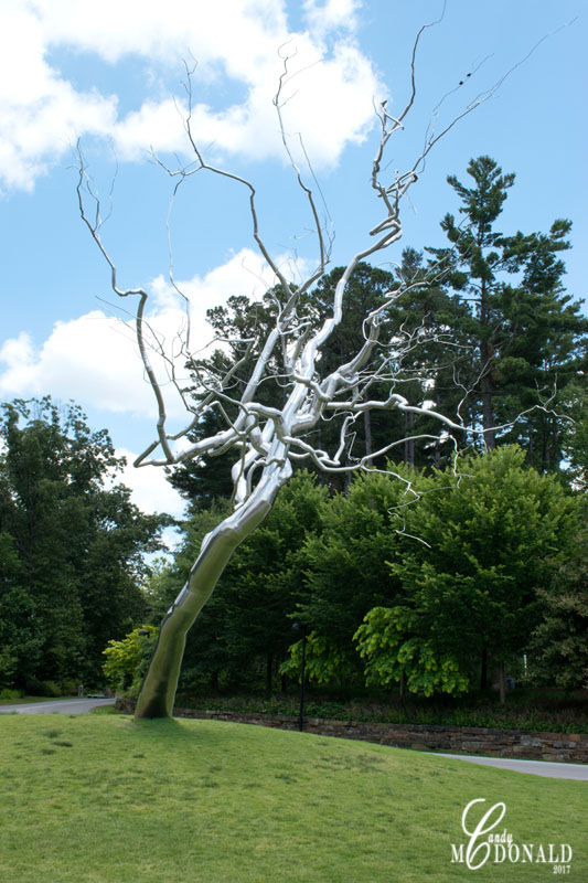 Tree Sculpture at entrance