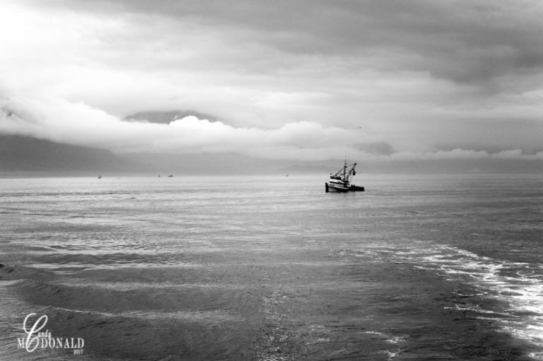 Boat tour 5 bw
