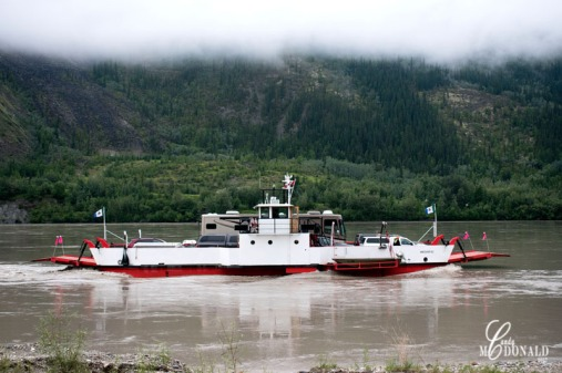 Ferry across Yukon 2