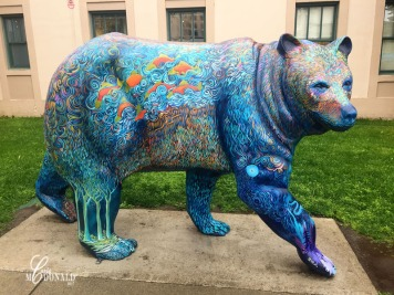 Painted bear