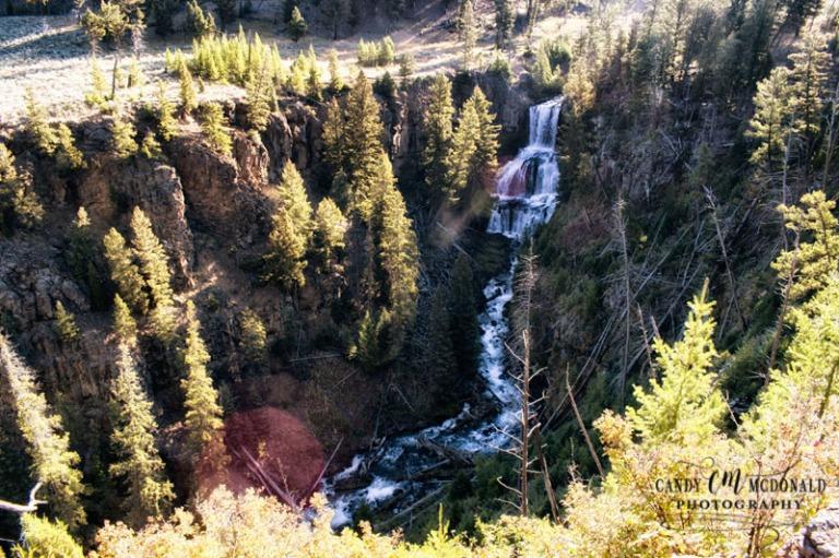 Ondine Falls Yellowstone DSC_0015