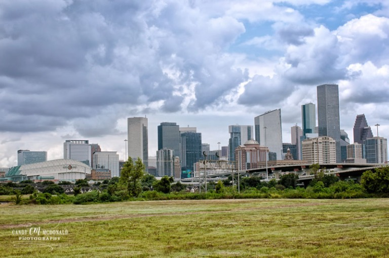 The skyline of Houston