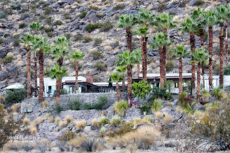 Hillside home in Palm Springs, CA