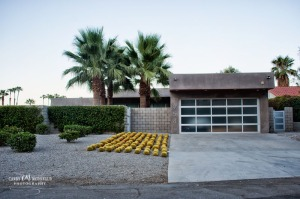 Mid-mod style home in Palm Springs, CA